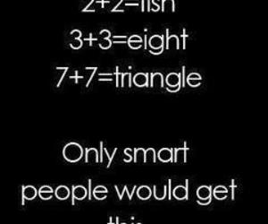 smart, funny, and math image