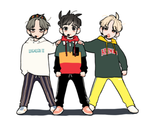 kpop, v taehyung, and vminkook image