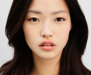 asian, girl, and model image