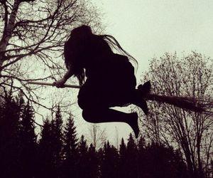 witch, dark, and magic image