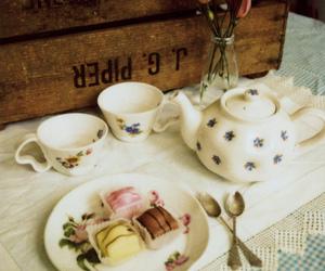 cake, polaroid, and ceramics image