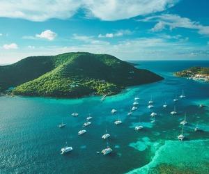 travel, Island, and landscape image