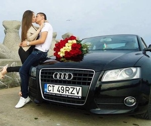 love, audi, and kiss image