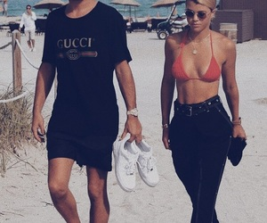 scott disick and sofia richie image