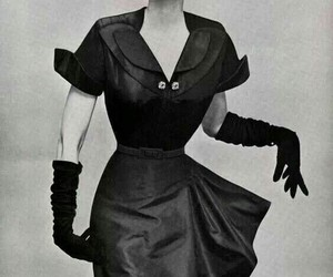 vintage, 1950's, and fashion image