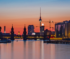 architecture, berlin, and buildings image