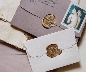 letters, vintage, and envelope image