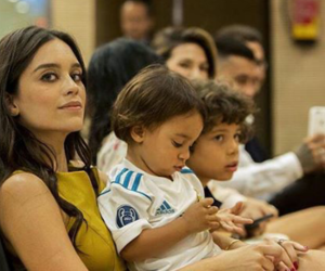 family, kids, and real madrid image