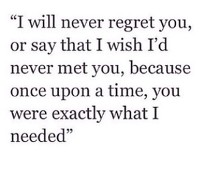 quotes, love, and regret image