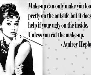 audrey hepburn and quote image
