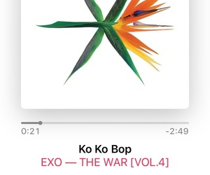 exo, kpop, and summer song image