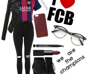 Barca, Barcelona, and football image