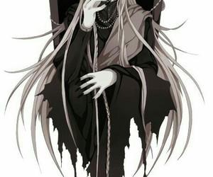 undertaker, anime, and kuroshitsuji image