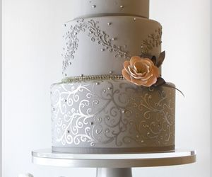 cake, beautiful, and lovely image