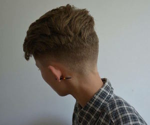 androgynous, haircut, and masculine image