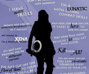 cool, quote, and lucy lawless image