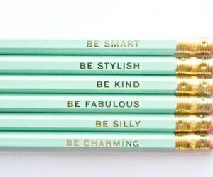 pencil and school image