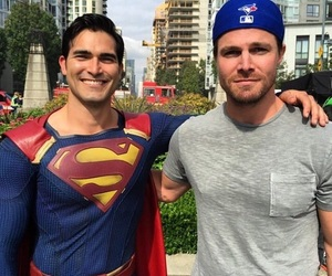 arrow, superman, and Supergirl image