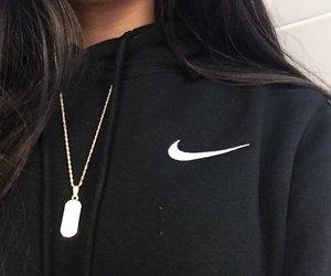 nike, fashion, and hoodie image