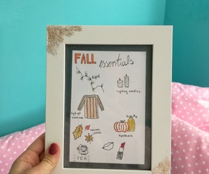 glitters, fall frame, and fall essentials image