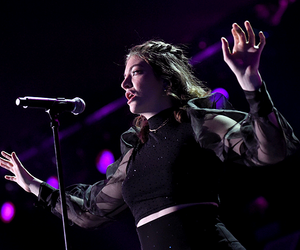 music, singer, and ️lorde image