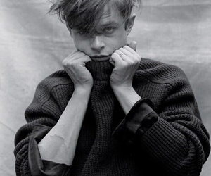 dane dehaan, boy, and black and white image