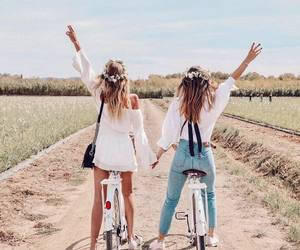 friends, girl, and goals image