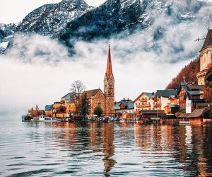travel, austria, and mountains image