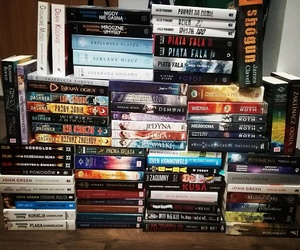 books, the hunger games, and percy jackson image