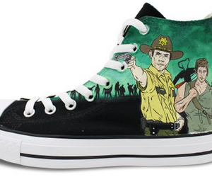 custom converse, high top shoes, and anime shoes image