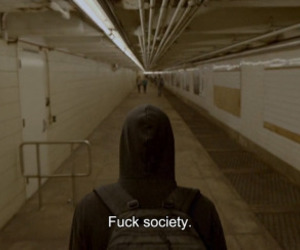 fuck, society, and tumblr image