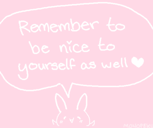 pink, quotes, and kawaii image