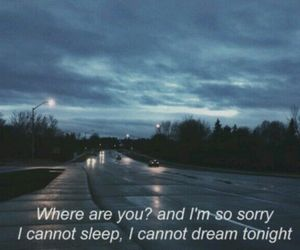 alone, cars, and Dream image