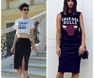 street style, slogan tees, and women's fashion image