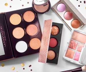 blush, makeup, and shadows image