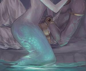 magi, mermaid, and anime image