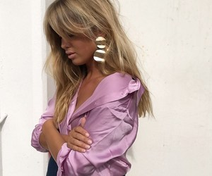 blogger, blonde, and design image
