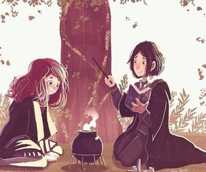 art, gif, and harry potter image
