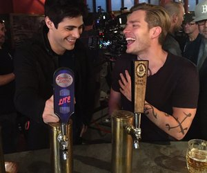 dominic sherwood, shadowhunters, and alec lightwood image