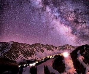 stars, galaxy, and milky way image
