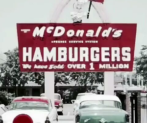 70s, mcdonal's, and fade image