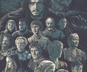 art, jaime lannister, and cersei lannister image
