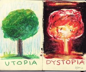 utopia, art, and distopia image