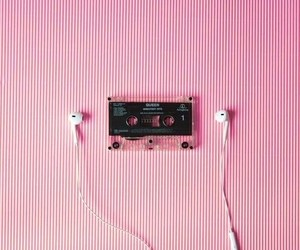 cassette, earphone, and grunge image