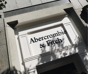 abercrombie and fitch, shadow, and grey image