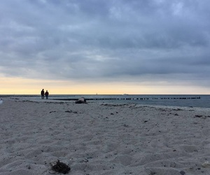 beach, twilight, and roadtrip image