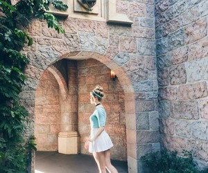 blonde, disneyland, and pretty image
