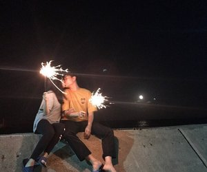 aesthetic, lovers, and sparkling image