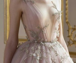 dresses, fantasy, and flower image
