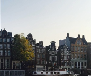 amsterdam, city, and netherlands image